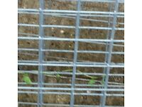 Welded wire mesh frames