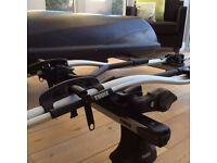 Thule Sliding Roof Bars And Bike Carrier , Additionail Roof Box Bundle