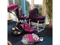 Mamas & Papas Sola complete travel system and accessories, in Great Condition