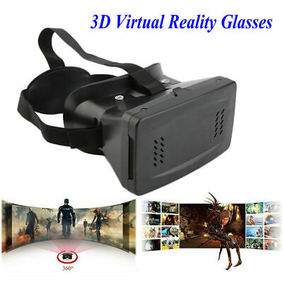 VR 3D Virtual Reality Glasses for 3.5-6inch Smartphone 3D Viewing Glasses USA