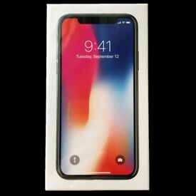 [UNACTIVATED & SEALED] iPhone X 256GB Space Grey