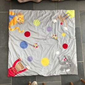 Lovely soft Ikea children's playmat