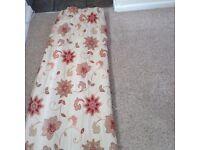 Very Heavy tapestry curtains / Pelmit/ tie- backs/ cushions