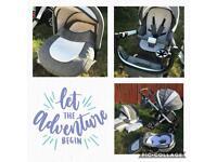 3-in-1 Baby pram/pushchair