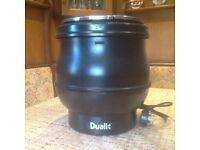 DUALIT Hotpot soup kettle. Used by catering business. As new.