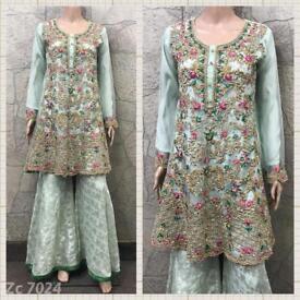 Pakistani desighner shalwar kameez wholesale