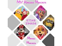 Mini Rascals Mascots