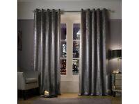 Kylie Minogue Adelphi Truffle Curtains 168x137cm