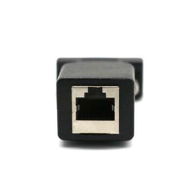 Serieller Extender (DB9 RS232 COM Stecker an RJ45 Buchse Karte Serieller DB9 Extender an LAN)