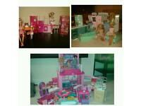 Barbie House & Dolls
