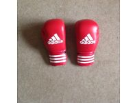 Adidas red boxing gloves brand NEW