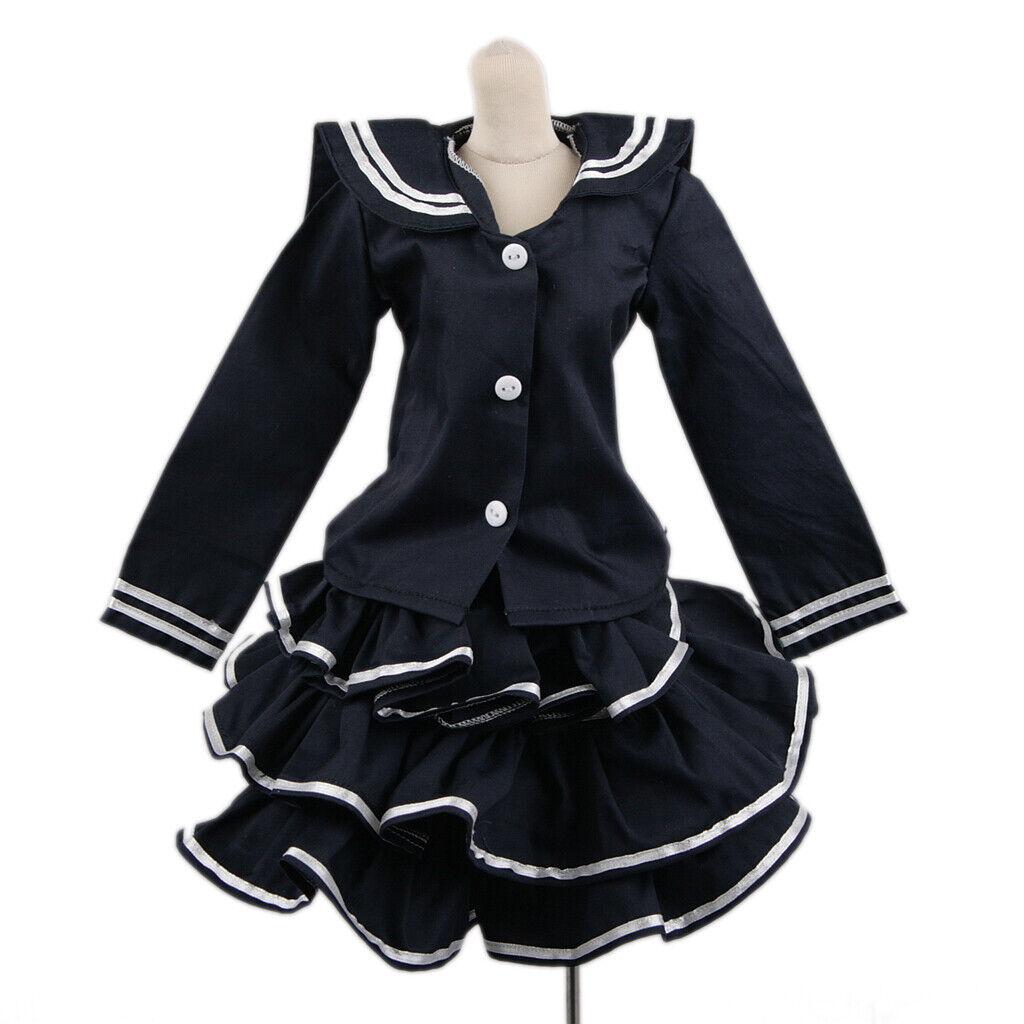 PF Suit 1//3 SD AOD DOD BJD Doll Suit 148# White Flower Print Dress