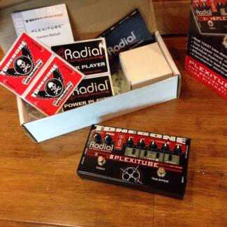 SECOND HAND RADIAL PLEXITONE 12AX7 TUBE DISTORTION