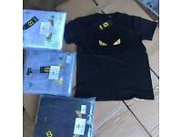 D squared, moncler, cp, fendi, stone island T shirts