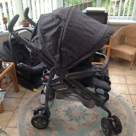 Mamas and Papas Pram- complete travel system with isofix base fitting