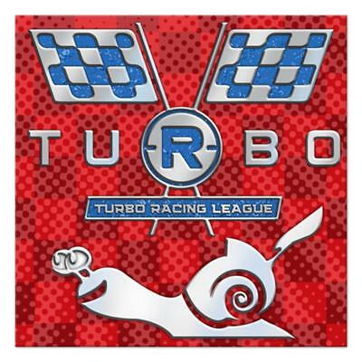 Turbo Racing League Dessert Napkins 16 Per Package Birthday Party Supplies Youth League Package