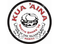 Kitchen Staff & Grill Chefs (all levels) required for Hawaiian Restaurant