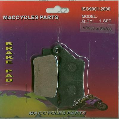 VOR Disc Brake Pads SM-E450 2003-2004 Rear (1 set)