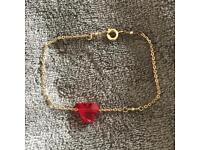 Handmade swarowsky bracelet