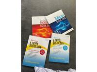 AQA A level sociology textbook bundle