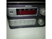 CD Player with Tape recorder & other items