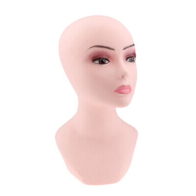 Female Mannequin Head Manikin Bust Model for Wigs Hat Jewlery Display Stand