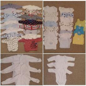 Baby boy clothes bundle (newborn & 0 - 3 months)
