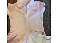 Hugo boss baby girls outfit
