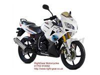 *Brand New* 66 plate Lexmoto XTRS Sports 125 (CBR) Warranty, Delivery, Part-ex 10-10