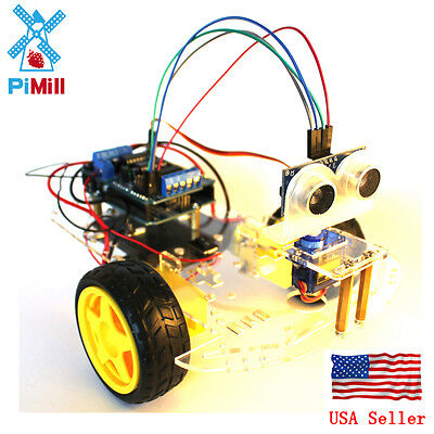 Pimill Arduino Smart Car Kit