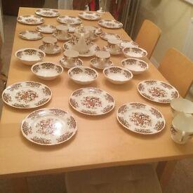 Colclough Royale bone china tea set
