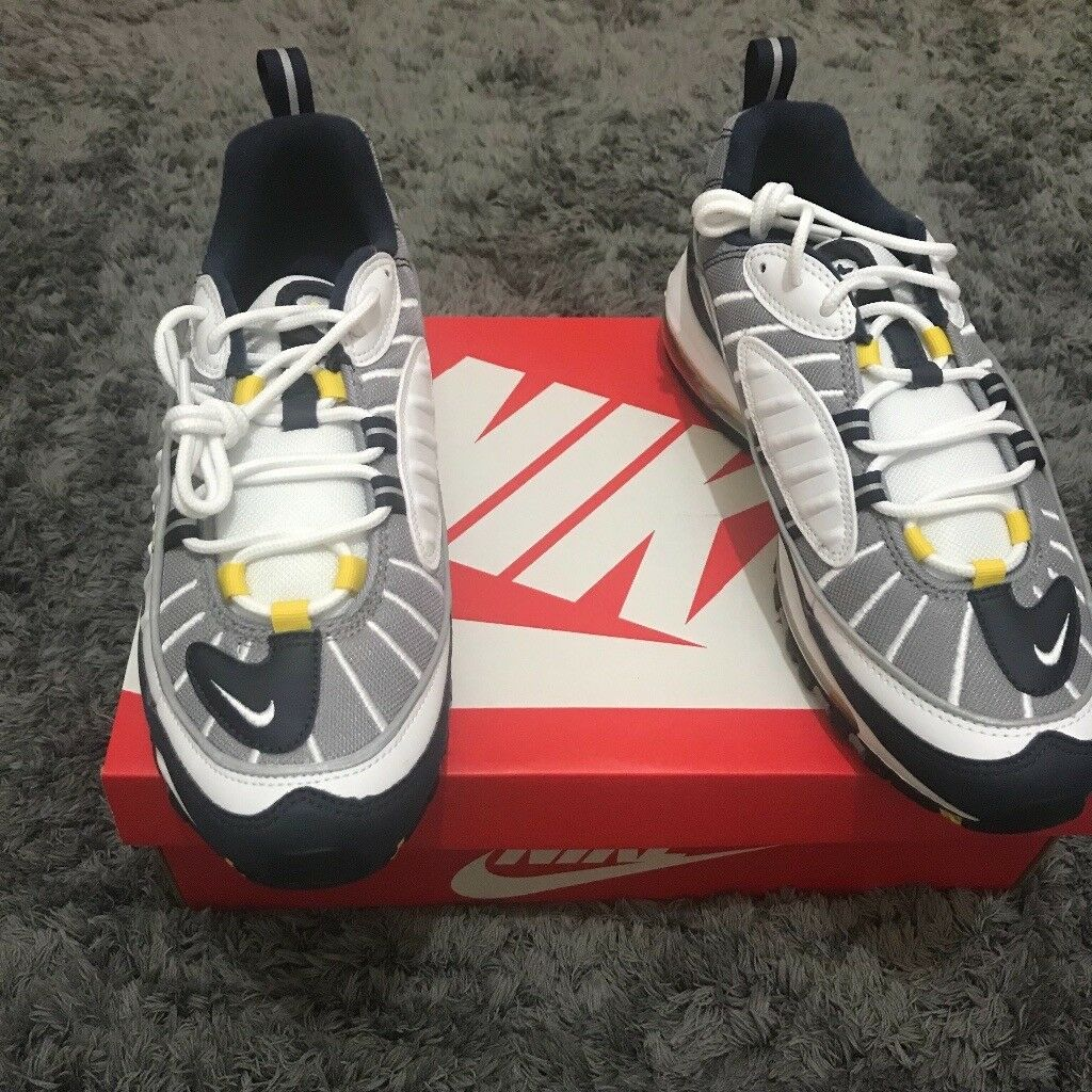 Nike Air Max 98 Tour Yellow Sizes uk 9  c422193e1