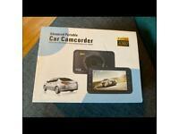 Advanced portable car camcorder dashcam