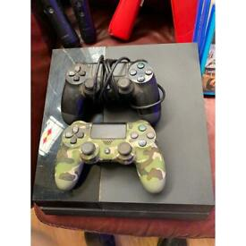 PlayStation 4 2TB hard drive.