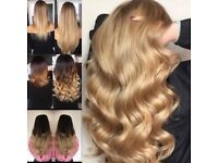 Hair extensions ,hair lifespan 18mths!ONLY available at Essex Miracles. Mobile service available !