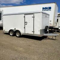 2011 Wells Cargo 16' x 8' cargo trailer w/ landscape package