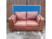 2 Matching Brown Sofas