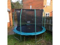 10ft Trampoline nearly new from John Lewis