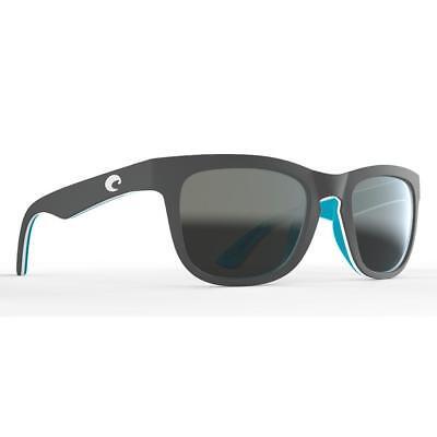New Costa Del Mar Copra 580P OCEARCH Matte Gray/Gray Mirror Polarized Sunglasses