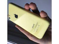 Iphone 5C 16 GB Yellow UNLOCKED (Faulty)