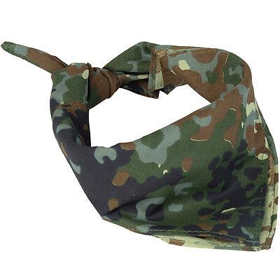 Armee Bandana (armée Flecktarn Camouflage Bandana - 100% Coton Military cache-nez écharpe)