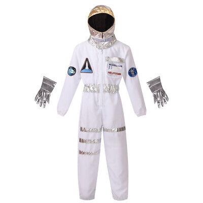 Kid Astronaut Costume (Little Kids' Space Astronaut Costume Halloween Role Play)