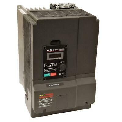 7.5 Hp 3 Phase 460 Volts Teco Nema 1ip20 Variable Frequency Drive E510-408-h3-u
