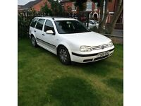 Here we have a love vw golf estate 1.6