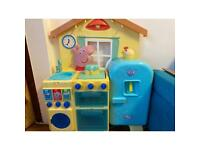 Peppa pig kitchen with song