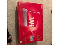 RED LIMITED EDITION NINTENDO WII WITH EXTRAS!