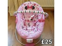Minnie Mouse Musical Vibrating Chair