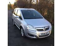 Vauxhall Zafira 2008 1.9 CDTI DIESEL LEATHER 7 SEATS not ford galaxy S max Vw touran.