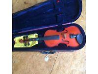7/8 size Skylark violin and Stentor case