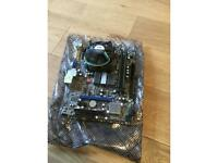 Intel Core 2 Quad 6600, MSI motherboard and ram